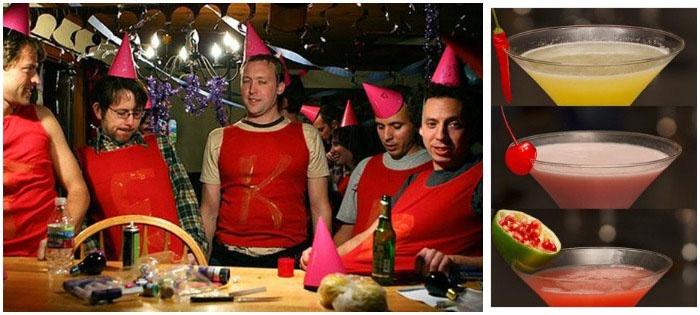 Латинская вечеринка-мальчишник