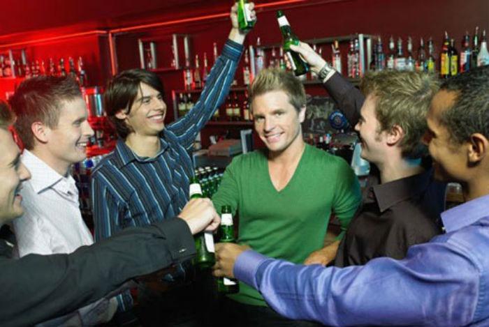Мальчишник в баре