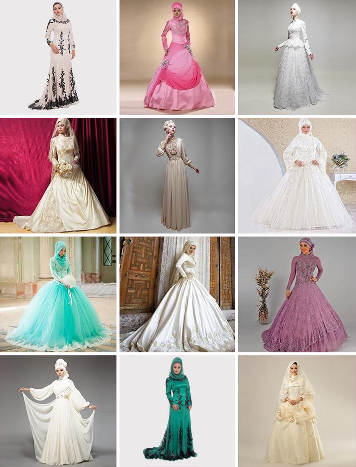 Разнообразие подвенечных одеяний