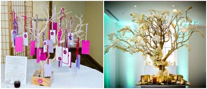 Деревья для пожеланий к бумажной годовщине