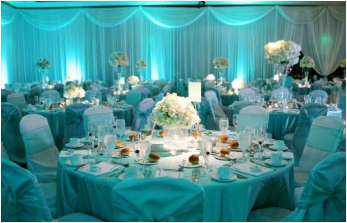 Оформление зала к восемнадцатилетию со дня свадьбы