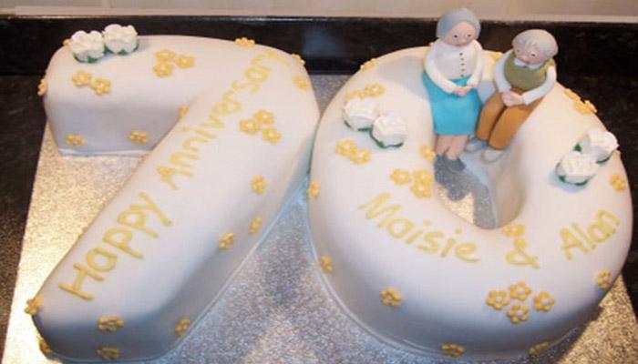 Идея оформления торта для благодатной свадьбы
