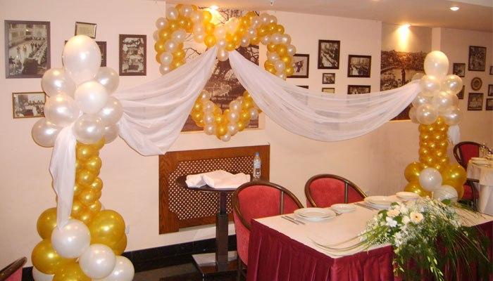 Оформление помещения к 75 годовщине свадьбы