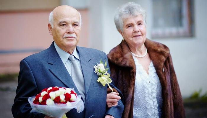 Бриллиантовая супружеская пара