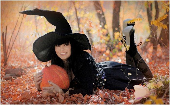 Костюм ведьмы для девичника