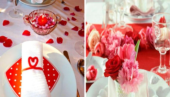 Сервировка стола на 40 годовщину свадьбы