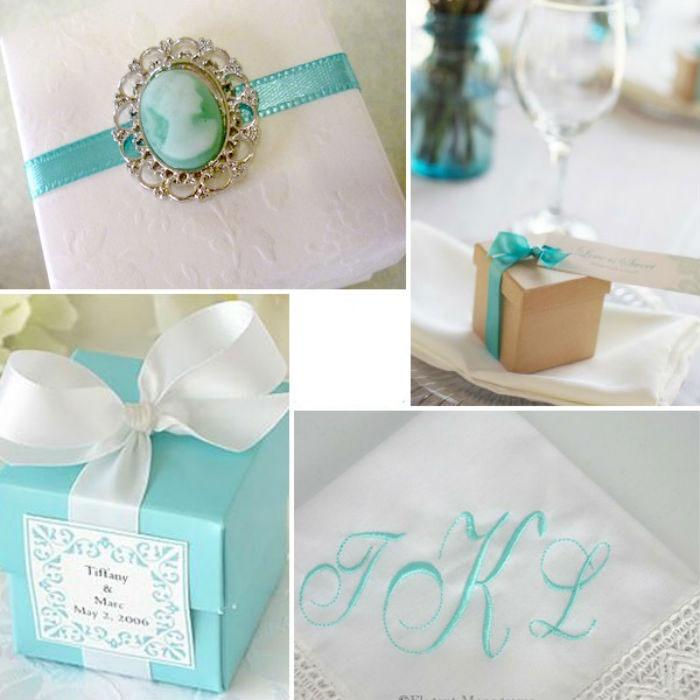 Подарки для невесты а-ля «Тиффани»