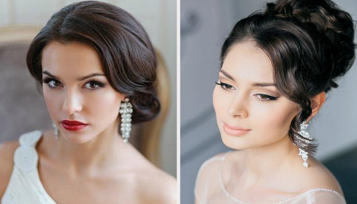 Свадебный макияж для светлокожих брюнеток