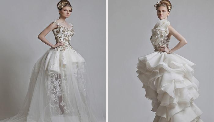 Классические платья белого цвета