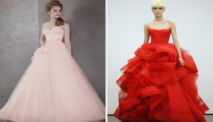 Необычные модели свадебной одежды