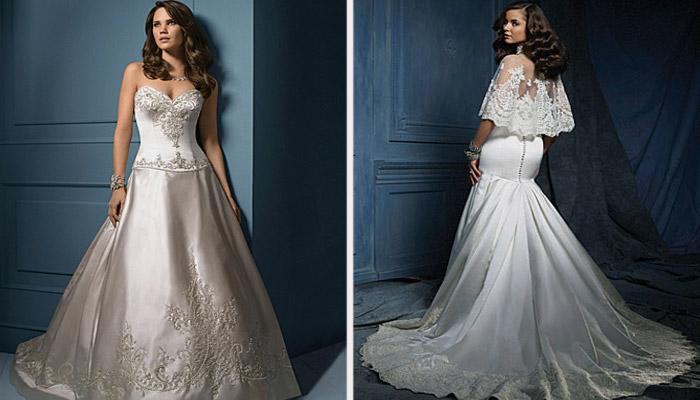 Платья от дизайнера Alfred Angelo