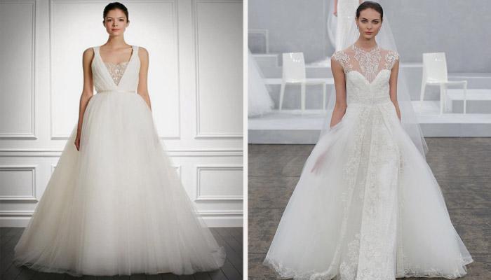 Свадебные платья от дизайнера Carolina Herrera