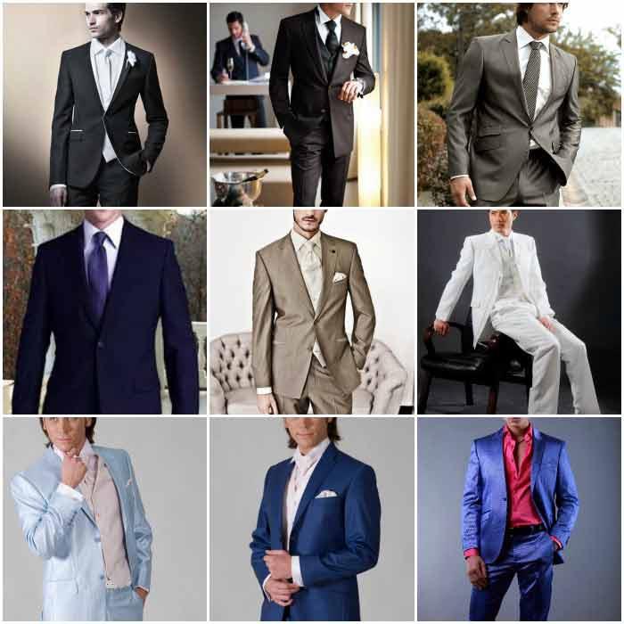 Свадебная коллекция мужских костюмов 2017