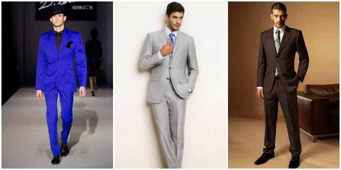 Основные цвета мужской свадебной одежды