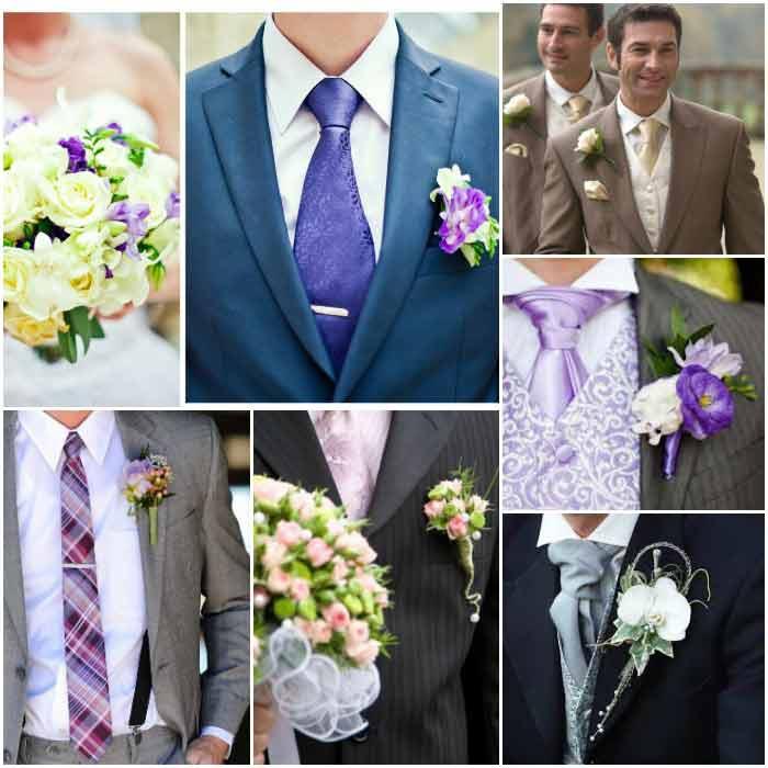 Дополнительные аксессуары к свадебному костюму