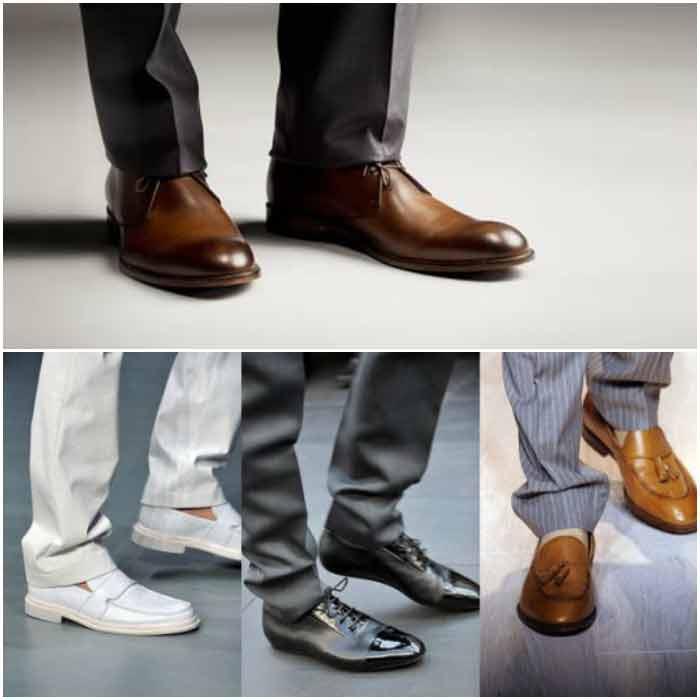 Фото обуви дополняющей костюм жениха