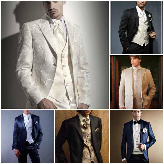 Свадебные костюмы с жилетками