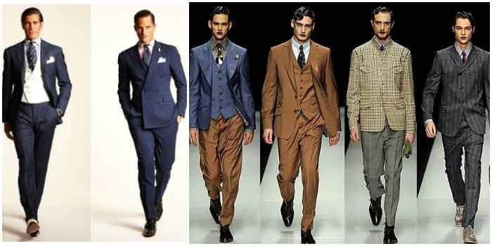 Ретро-фасоны свадебной одежды для мужчин