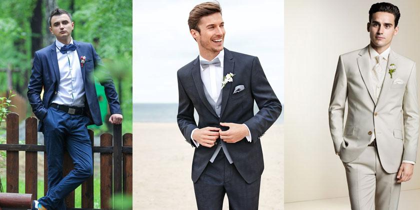 Мужчины в свадебных костюмах