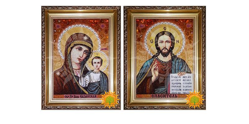 Христос и Божья Матерь