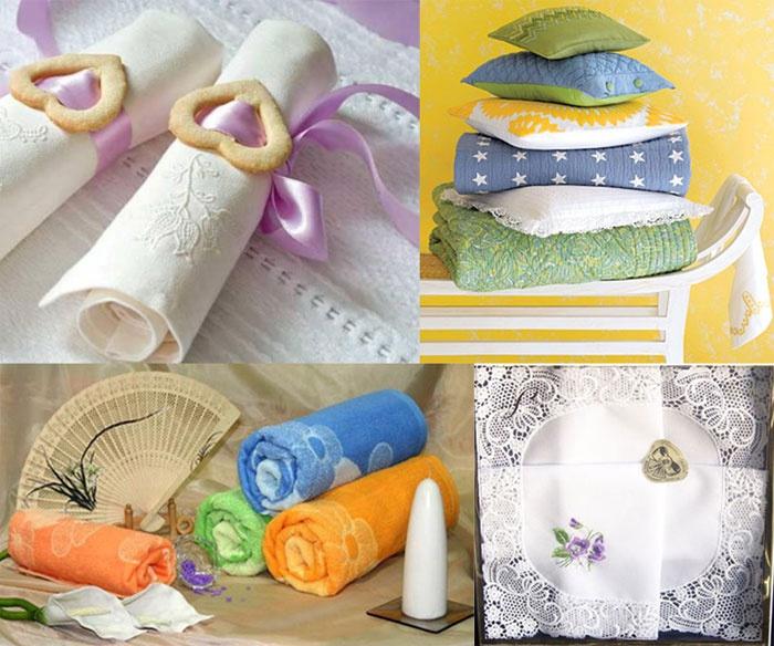 Изделия из текстиля в подарок к ситцевой годовщине