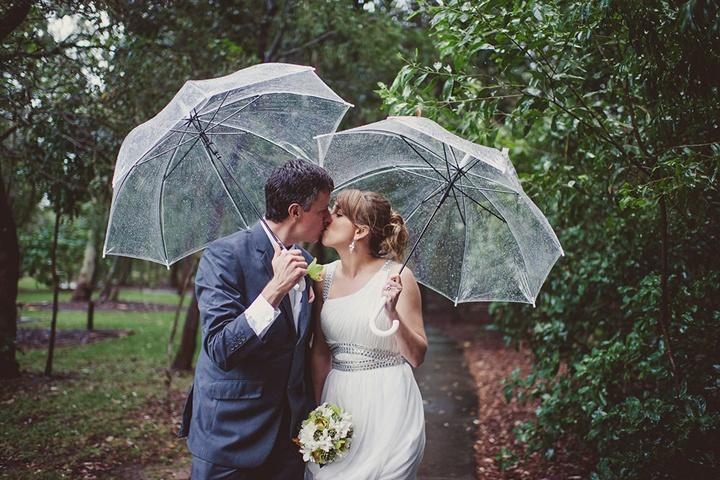 С зонтиками