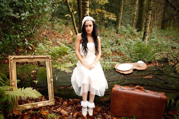 Фотосет в лесу