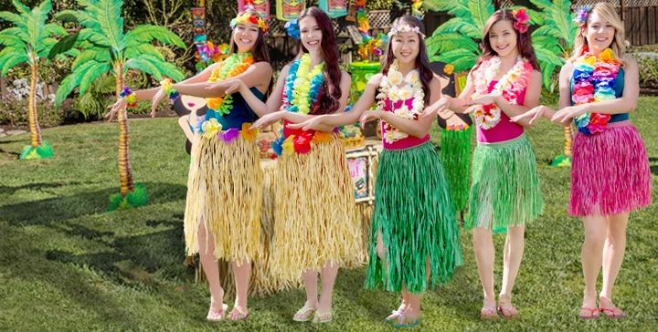 Гавайская вечеринка-девичник