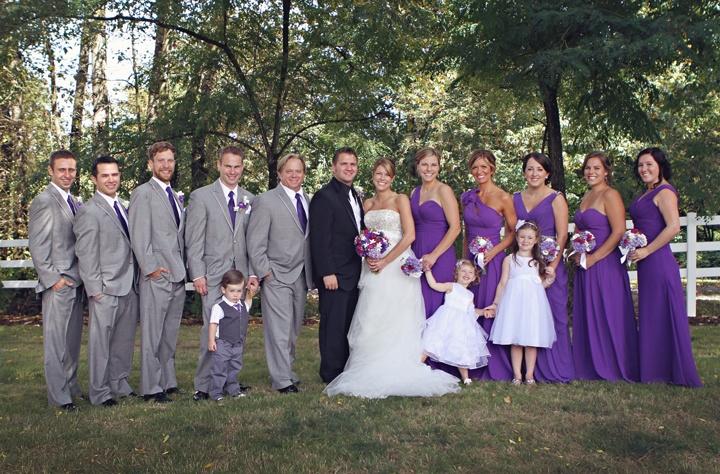 Образы друзей жениха и подружек невесты