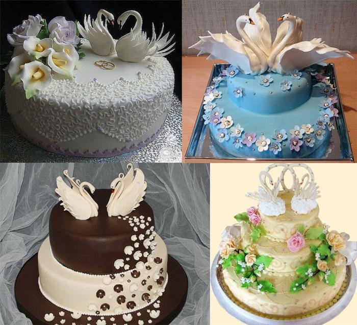 Праздничный торт для коронованных супругов
