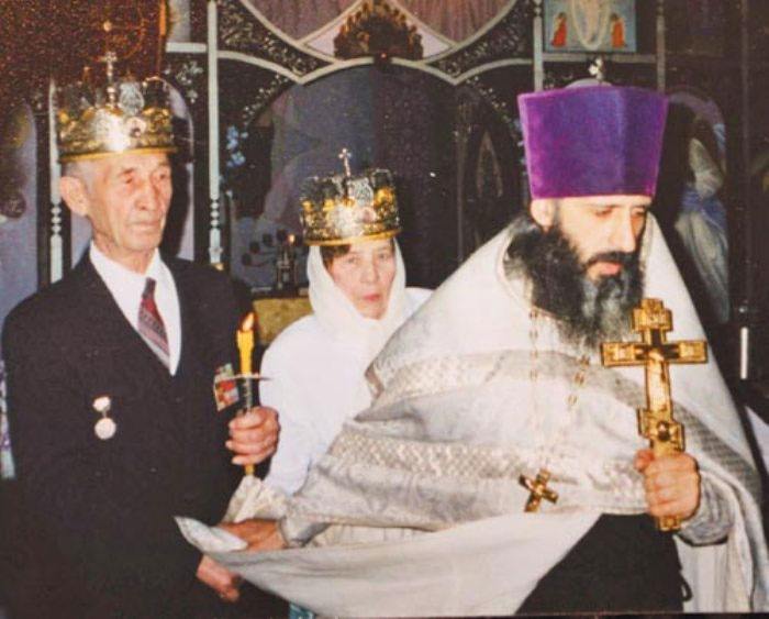 Венчание коронованных супругов
