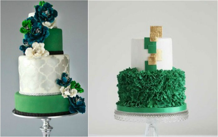 Торт для изумрудного юбилея