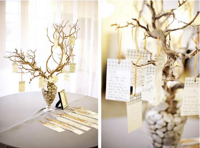 Дерево пожеланий для 30 годовщины свадьбы
