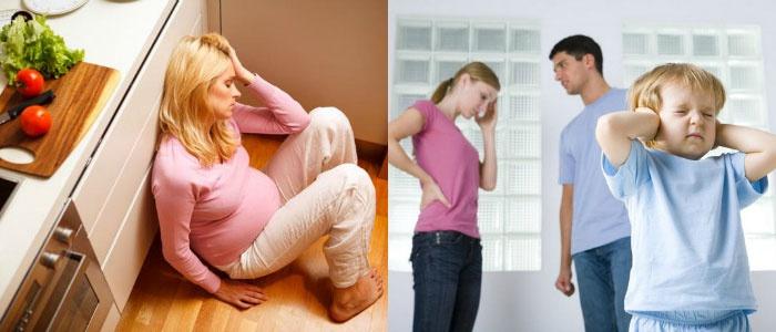 Почему охладел супруг: причина в беременности