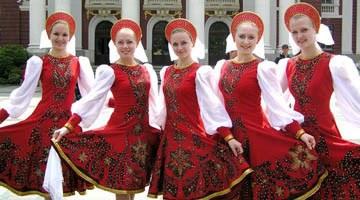 Особенности наряда в русском стиле