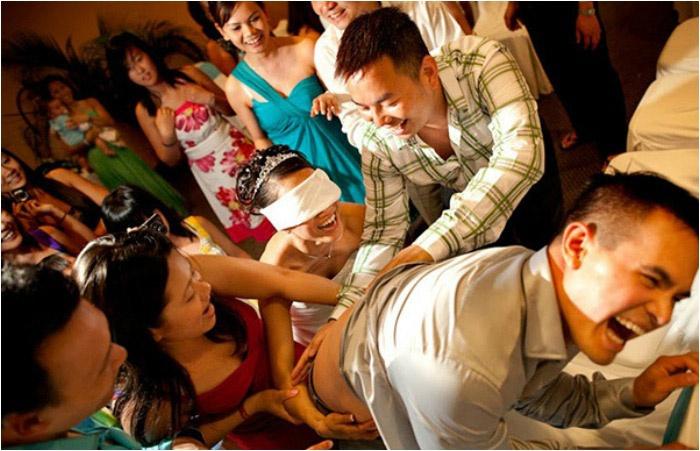 Веселые конкурсы для свадьбы
