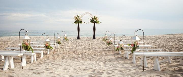 Украшение мест для гостей свадьбы