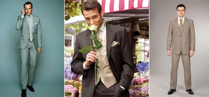 Нюансы выбора мужской одежды на свадьбу летом