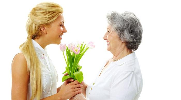 Улыбнитесь при первой встрече с мамой жениха