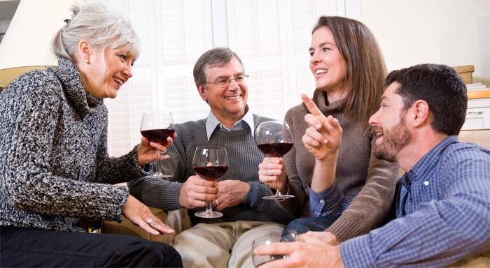 Приятная встреча с родителями любимого