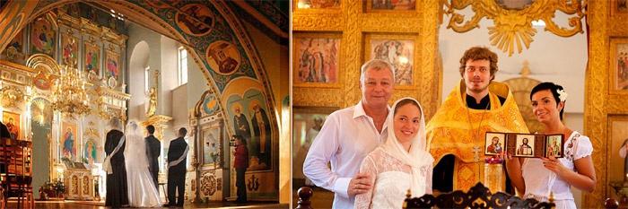 Фотосъемка после венчания