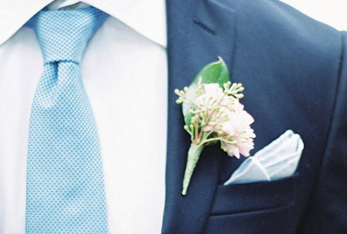 Выбор галстука на свадьбу по стилю