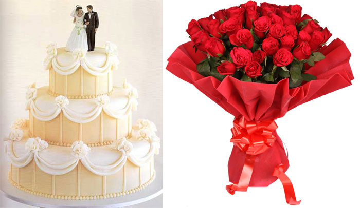 Креповая свадьба и подарки к ней