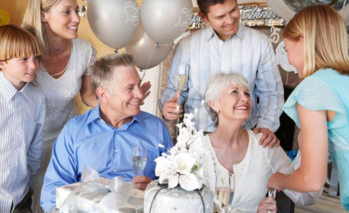 Праздник на 39 лет совместной жизни