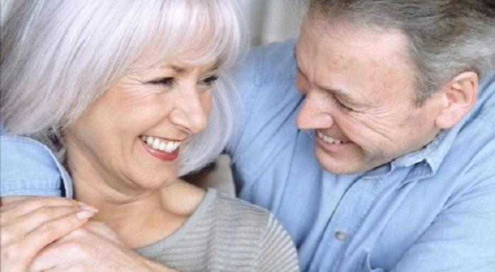 Празднование вдвоем 43-летия совместной жизни