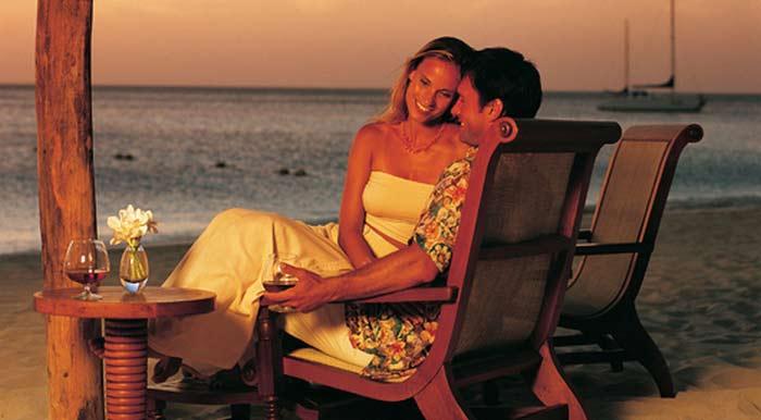 Пляжный отдых и СПА для новобрачных