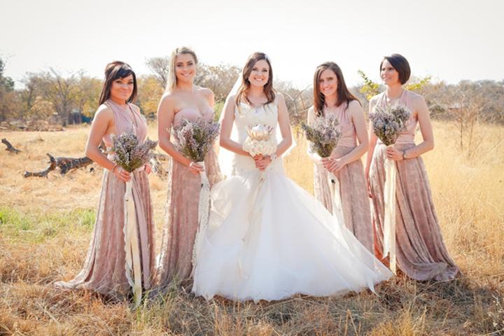 Одежда подружек невесты