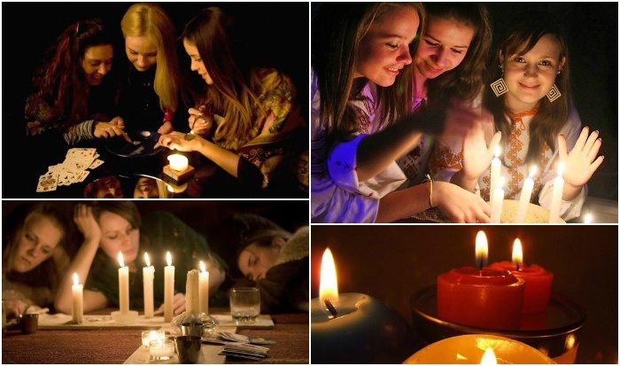 Гадания с помощью свечей