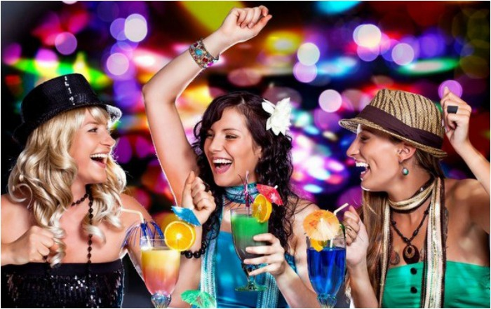 Идея для девичника – ночной клуб
