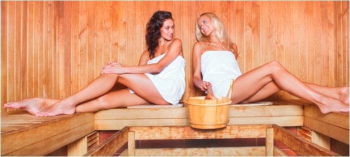 Сауна – идея для здорового девичника